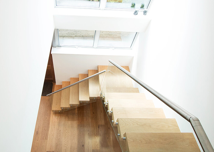 YUDI Stairs Custom made building floating stairs supply for office building-1
