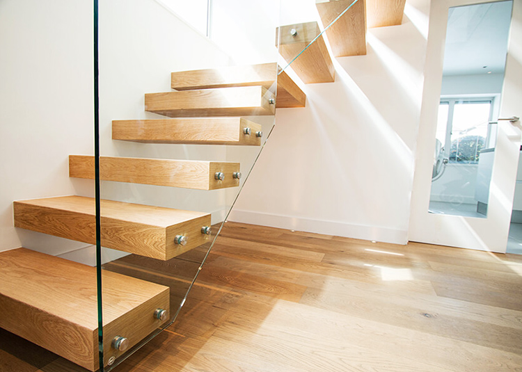 YUDI Stairs Custom made building floating stairs supply for office building-2