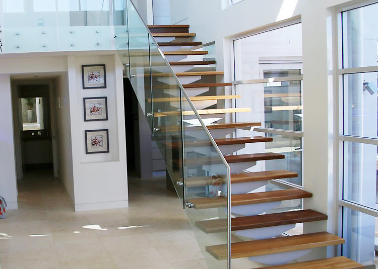 YUDI Stairs Custom made straight stair vendor for commercial use-2