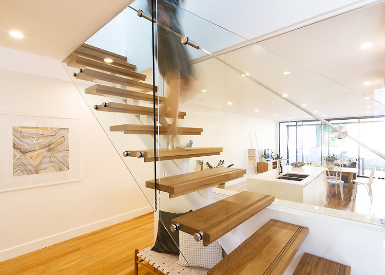 YUDI Stairs Custom made straight stair vendor for commercial use-1