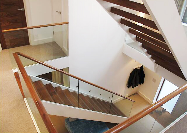 YUDI Stairs u shaped stair design factory price for aprtment-2