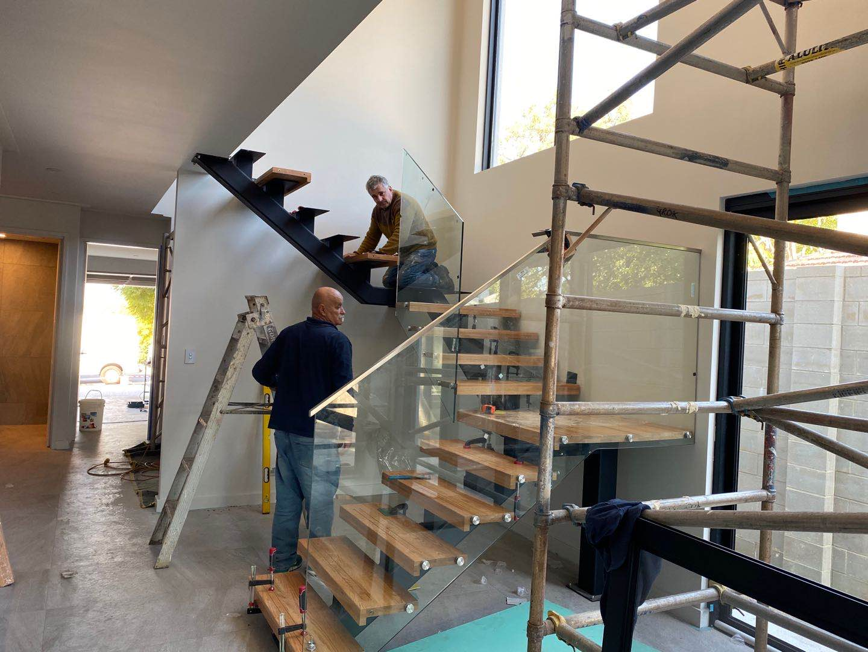 Modern U Shape Indoor Stair