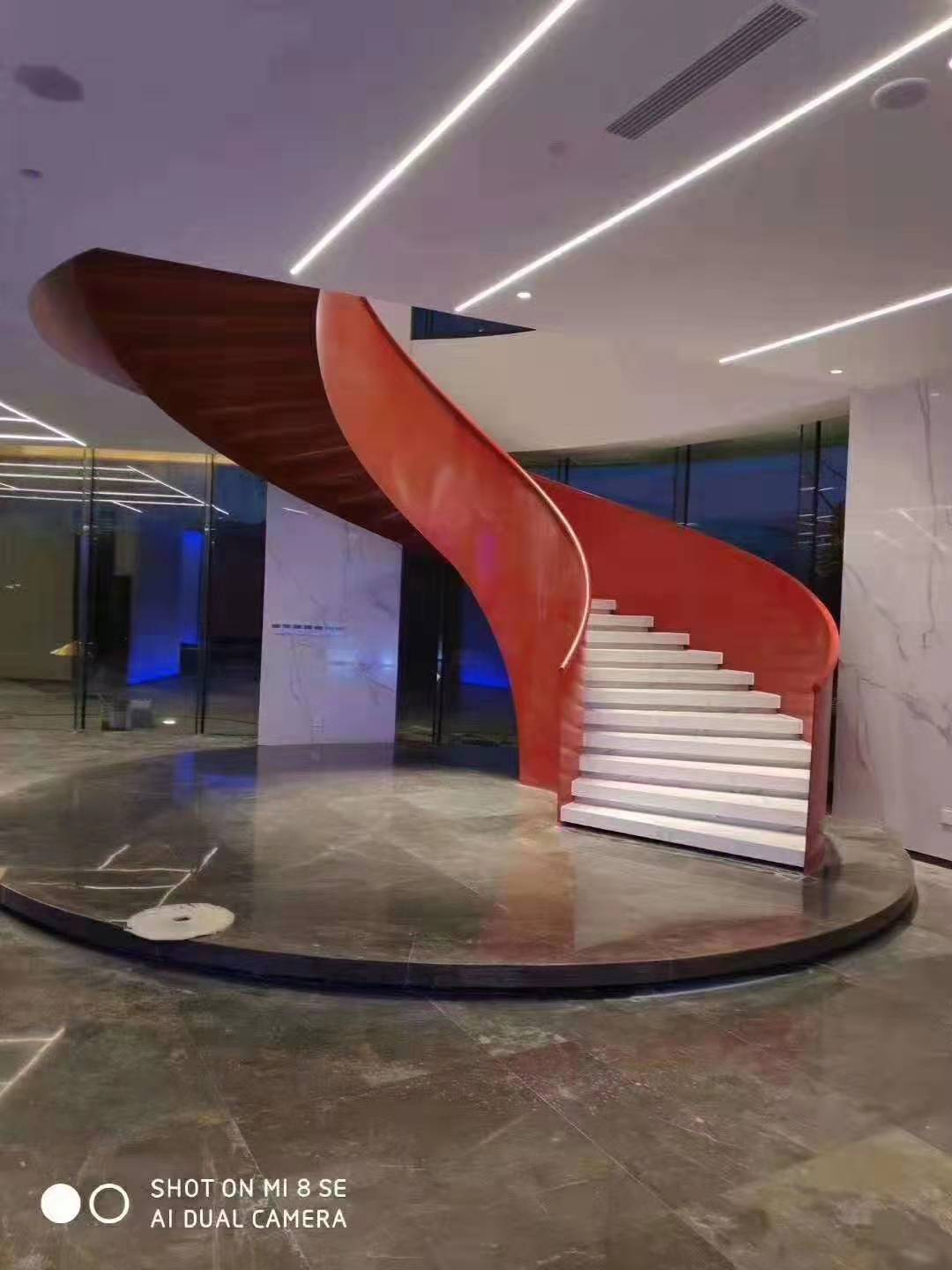 YUDI Stairs curved stairs manufacturers for indoor-1