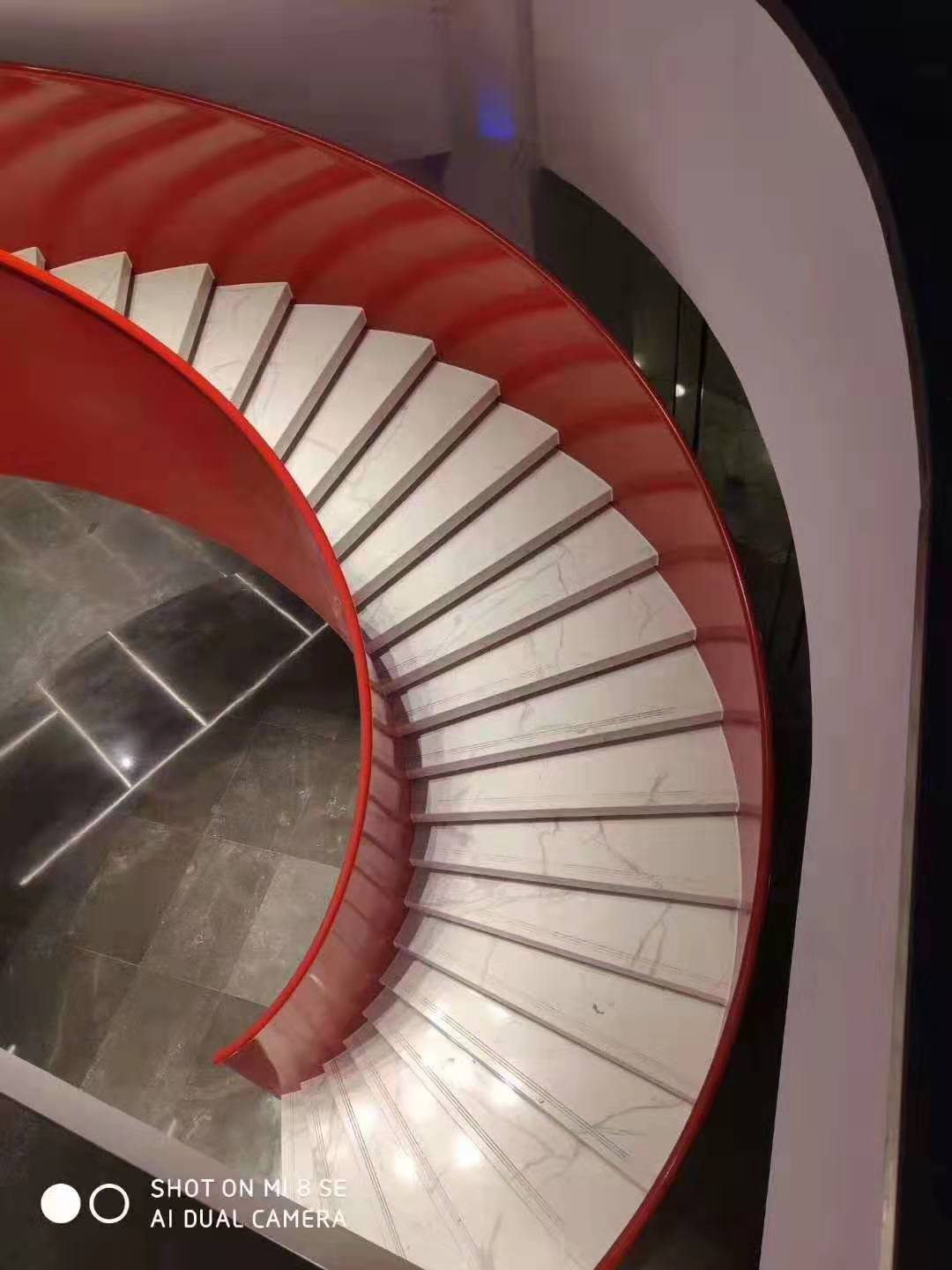 YUDI Stairs curved stairs manufacturers for indoor-3