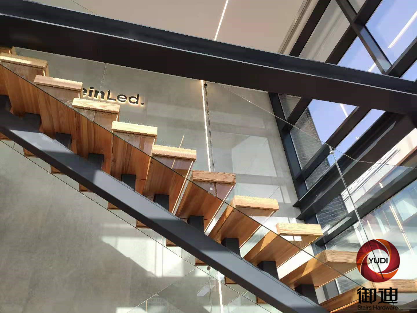 Professional stair kits price for villa-3