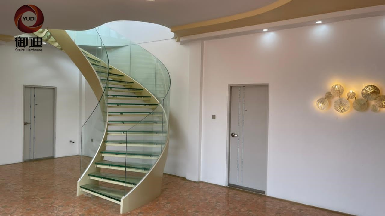Best space saving stairs manufacturers for villa-1