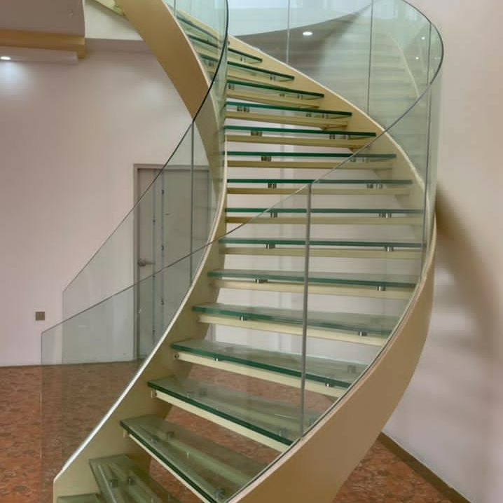 Best space saving stairs manufacturers for villa-4