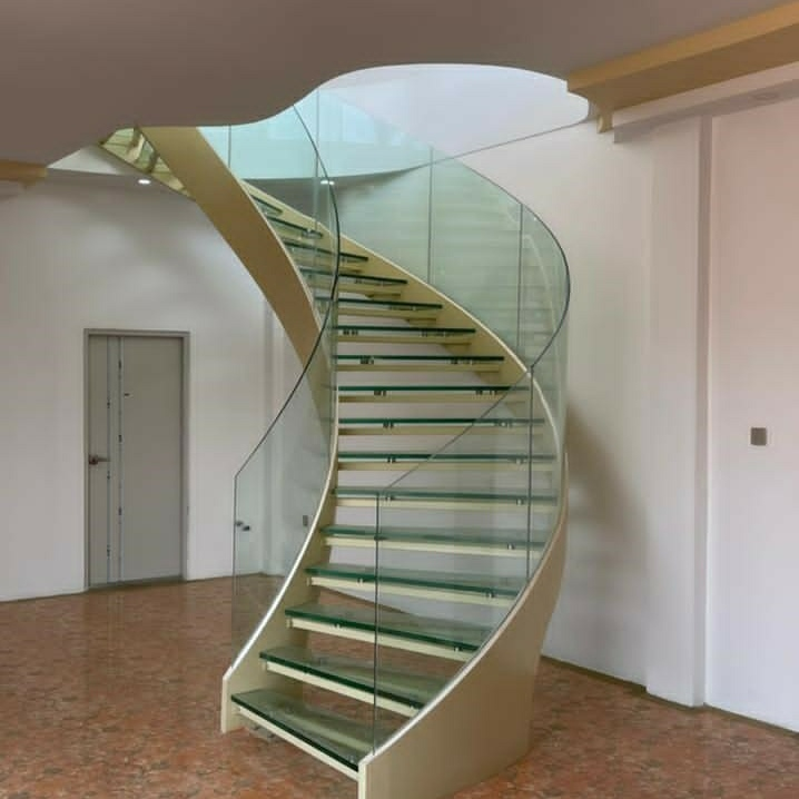 Best space saving stairs manufacturers for villa-2
