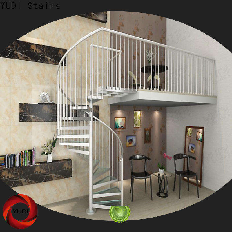 YUDI Stairs spiral staircase suppliers company for aprtment