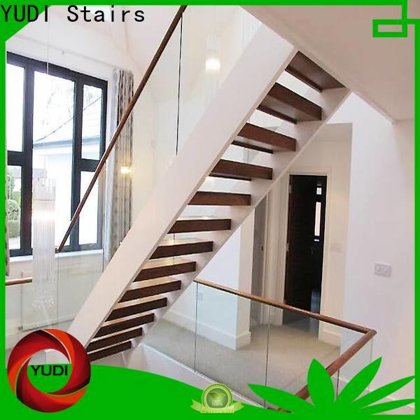 Latest u shaped staircase company for outdoor