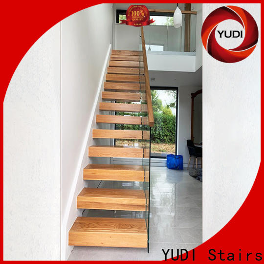 YUDI Stairs floating staircases suppliers for villa