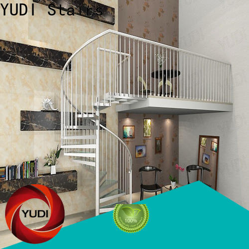 YUDI Stairs Quality spiral staircase manufacturers cost for aprtment
