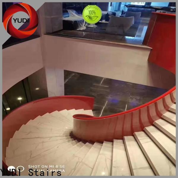 YUDI Stairs curved staircase designs price for indoor