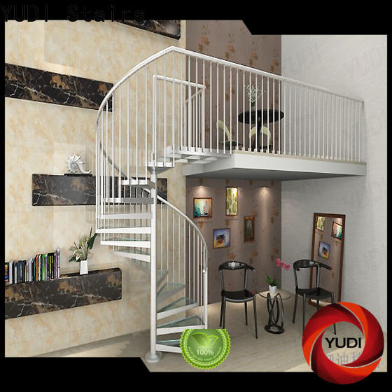 YUDI Stairs modern spiral staircase supply for home