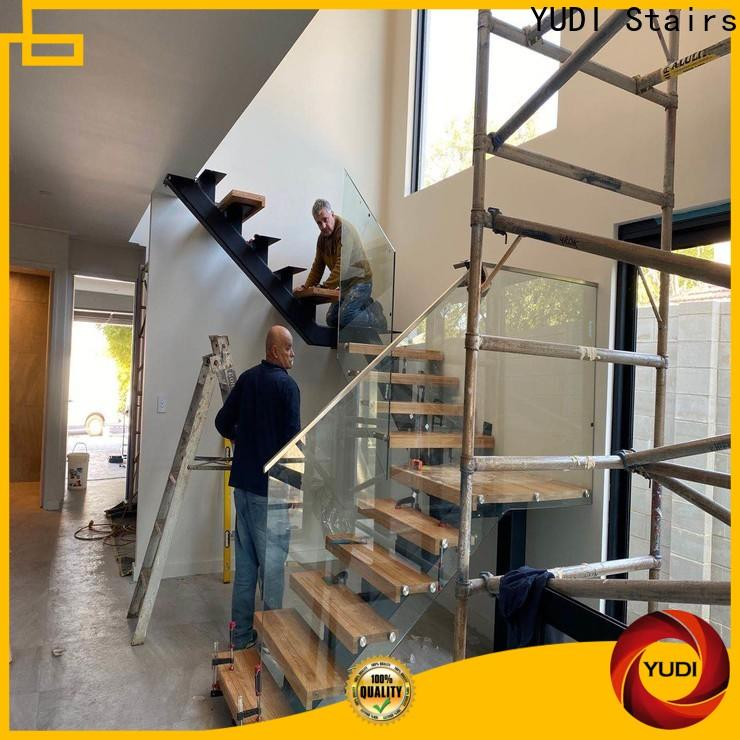 YUDI Stairs straight flight staircase company for commercial use