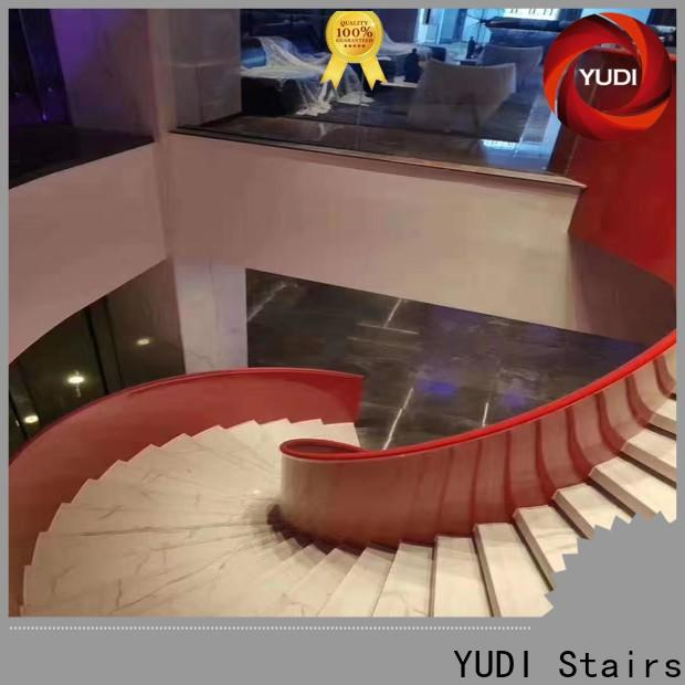 YUDI Stairs curved staircase for aprtment
