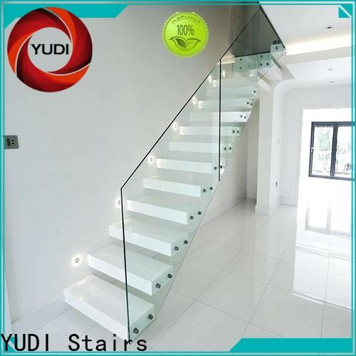 YUDI Stairs Latest floating stairs design for hotel