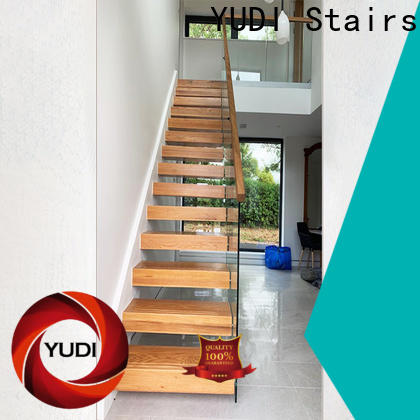 Custom made floating stairs factory for hotel