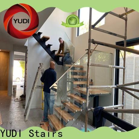 YUDI Stairs straight stair cost for commercial use