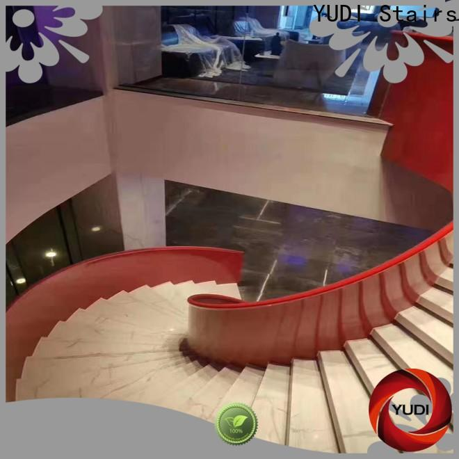 YUDI Stairs New curved stairs vendor for house