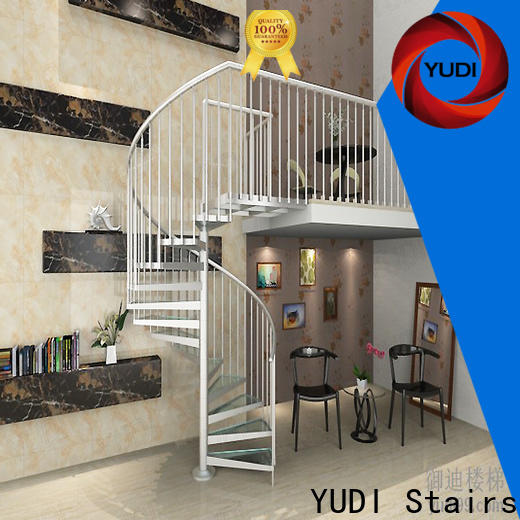 YUDI Stairs Quality custom spiral staircase company for house