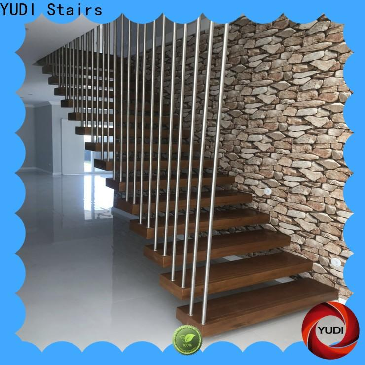 YUDI Stairs floating steps staircase for apartment