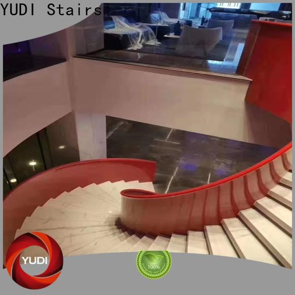 Best curved staircase manufacturers supply for house