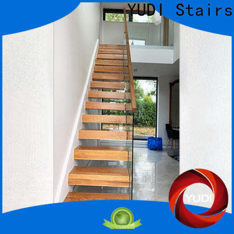 YUDI Stairs Top floating staircases suppliers for hotel