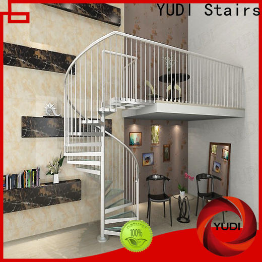 YUDI Stairs spiral staircase company supply for home
