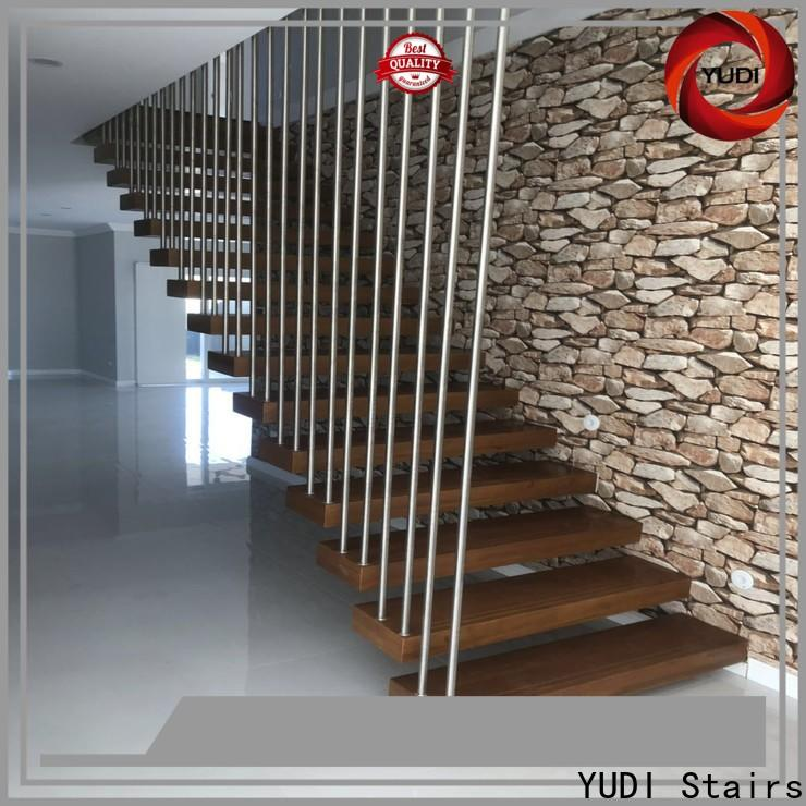 YUDI Stairs floating steps cost for office building