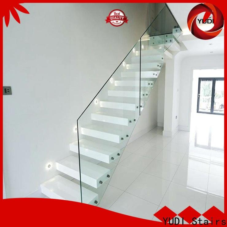 Custom made floating stairs design factory price