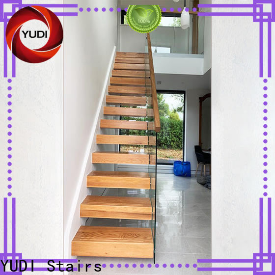 YUDI Stairs Custom made floating stair kit price for office building