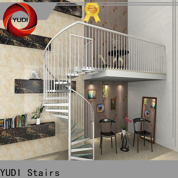 YUDI Stairs custom spiral staircase suppliers for aprtment