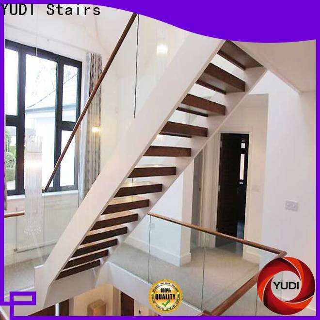 YUDI Stairs u shaped stair design factory price for aprtment