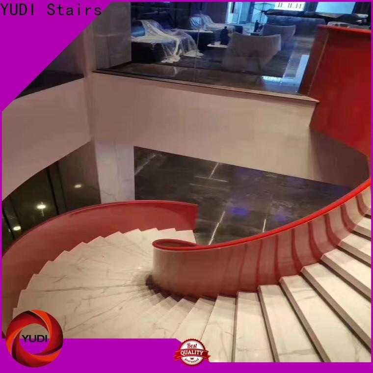 Latest curved staircase wholesale for indoor