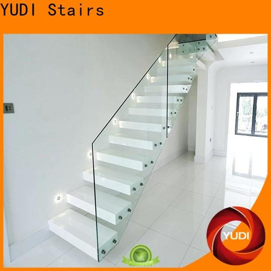 YUDI Stairs floating stair kit supply for office building