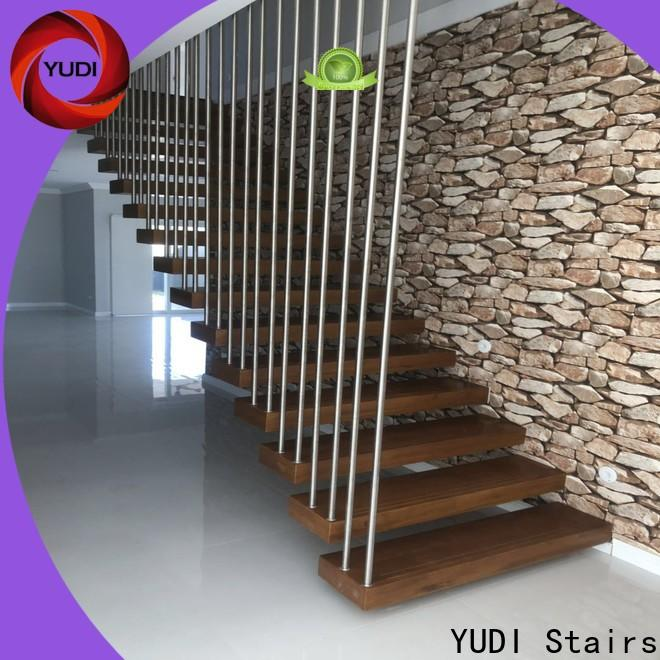 YUDI Stairs floating stair treads for apartment