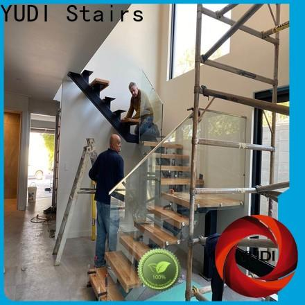 YUDI Stairs Custom made residential stairs manufacturers for villa