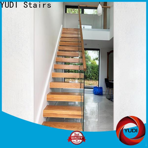 YUDI Stairs Custom floating staircases vendor for villa