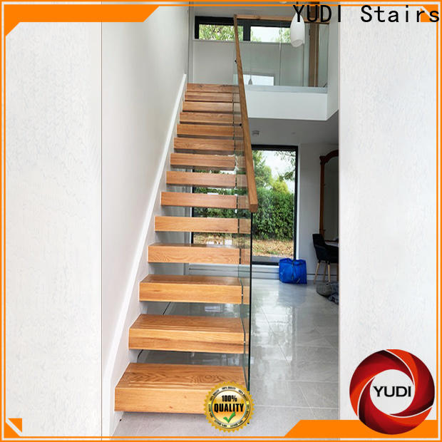 Quality floating stairs for sale manufacturers for villa