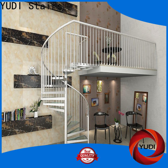 Quality outdoor spiral staircase for sale suppliers for aprtment