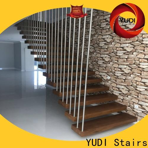 YUDI Stairs Professional floating staircase prices suppliers for hotel
