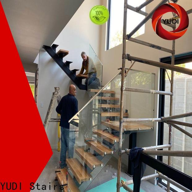 YUDI Stairs Custom made interior staircase company for residential