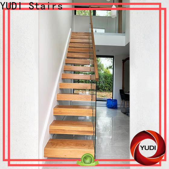 Custom made floating treads manufacturers for villa