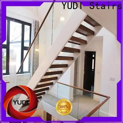 YUDI Stairs u shaped stair design company for outdoor