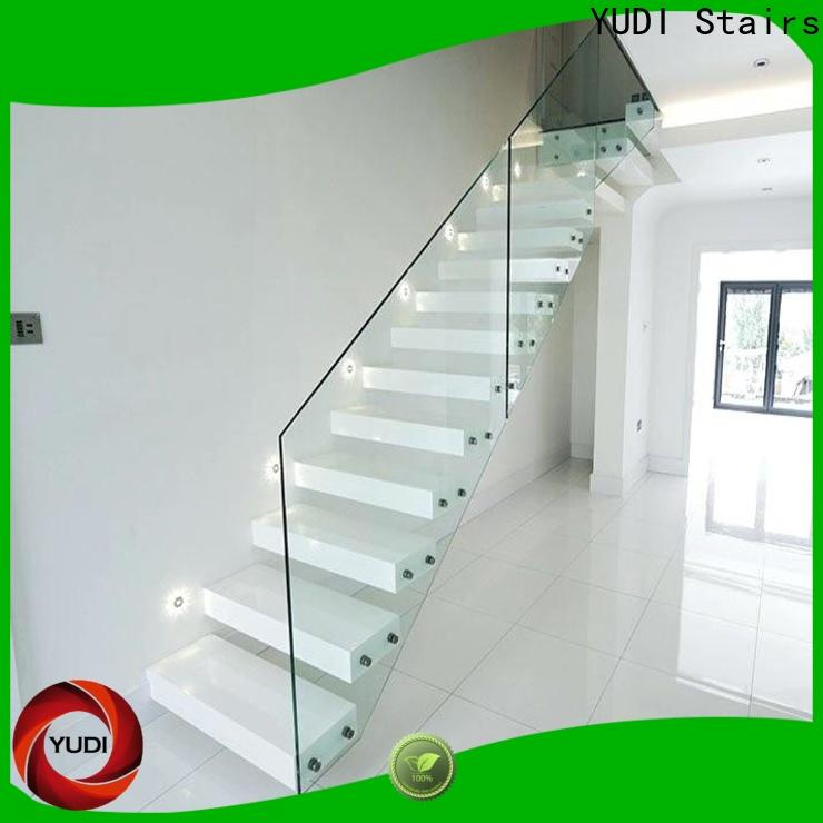 floating stair treads supply for villa
