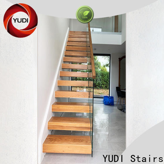 YUDI Stairs floating spiral staircase price for villa