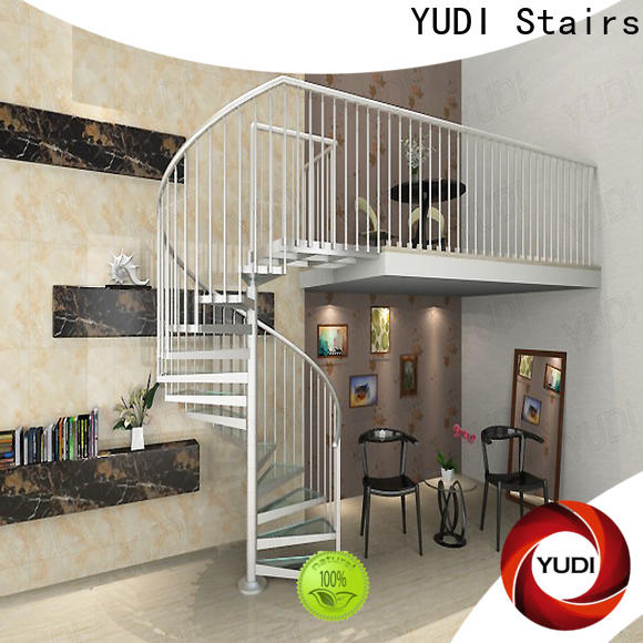 YUDI Stairs custom spiral staircase suppliers for home