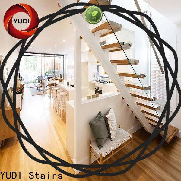 YUDI Stairs interior staircase manufacturers for commercial use