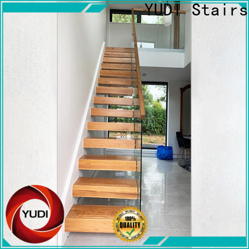 YUDI Stairs Customized building floating stairs price